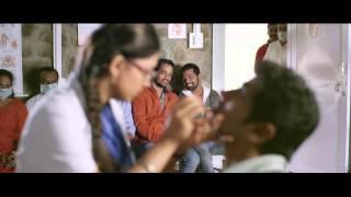 Vaayai Moodi Pesavum Tamil Movie | Nazriya hurts Dulquer Salman