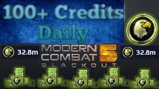 How To Farm Credits Faster^[Modern Combat 5]^