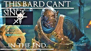 Shadow of War: Middle Earth™ Unique Orc Encounter & Quotes #33 BARD WHO CAN'T SING?!
