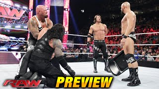 WWE RAW 2 May 2016 PREVIEW (RAW 5/2/16)