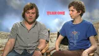 Year One: Jack Black & Michael Cera Interviews