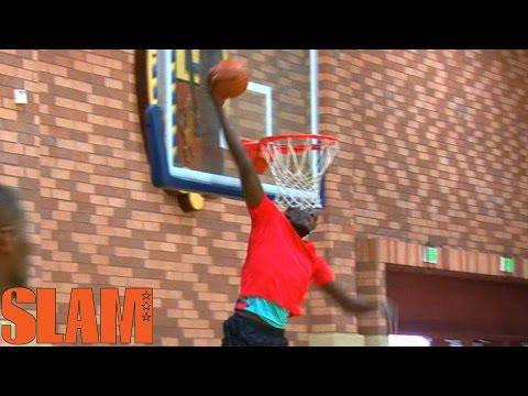 7'6 Mamadou Ndiaye 2016 NBA Draft Workout - NBA Draft Prospect 2016 - 16NBACLH