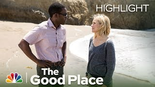 The Good Place - Chidi Kills Janet! (Episode Highlight)