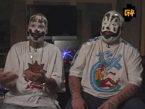 Insane Clown Posse Freestyle on G4TV