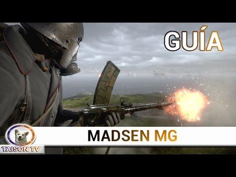 Battlefield 1 La Madsen y sus