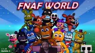 FNAF World v1.10   HARD Mode  part 1 - Et c'est repartie !