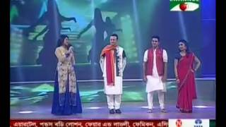 Ridy and Tushar, Mangolee Channel I Shera Nachiye, Season 3   Special for Krishnopokkho release