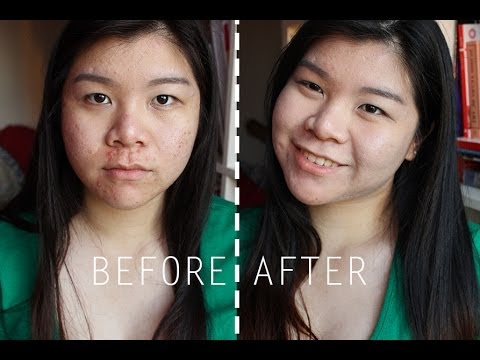 MIZON Snail Repair BB Cream Review+ Demo [for acne/combo skin]