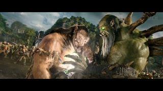Warcraft (2016) -  Gul'dan vs Durotan: Mak'gora [4K]