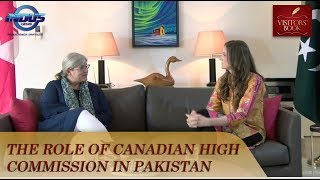 The Role of Canadian High Commission in Pakistan | Visitors' Book | Indus News