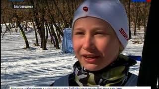 Благовещенские лыжники завершили сезон открытым первенством города