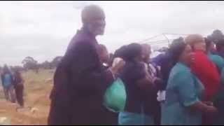 Funny funeral video at south Africa
