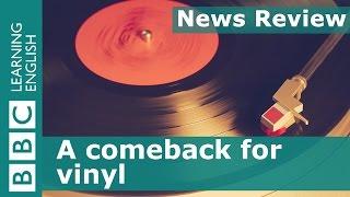 BBC News Review: Vinyl records make a comeback
