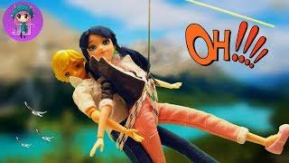 Marinette y adrien en TIROLINA ☯ Miraculous prodigiosa ladybug temporada 2 #15 ☯ JJ toys