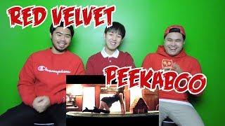 RED VELVET - PEEK-A-BOO MV REACTION (FUNNY FANBOYS)