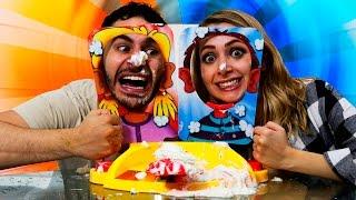 ► Pastelazo en Cara Splash | Pie Face Showdown | Yosstop