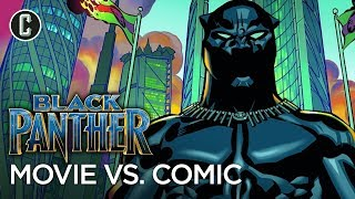 Black Panther: How Different Is The Movie From The Comic Books?
