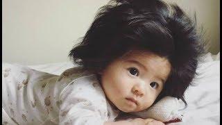 طفله عمرها 6 أشهر تمتلك أجمل شعر فى العالم !