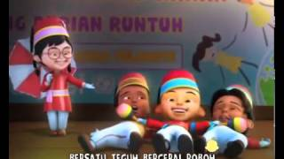 Boria Suka Suka - Upin Ipin (Lagu Anak Terbaru 2014)