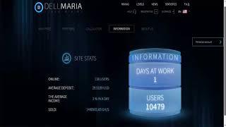 Dellmaria - New Cloud Mining 10 Ghs Bonus