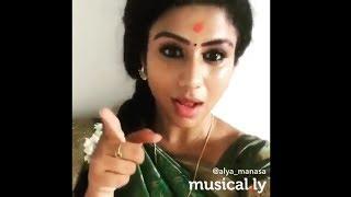 Vijay TV Raja Rani Serial Manasa (Semba) Cute Dubsmash Collection