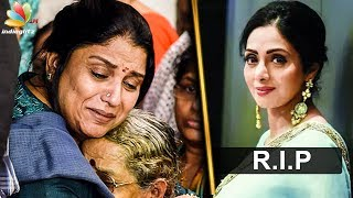 I cant accept Sridevi's death : Sripriya Interview | Tamil Actress Death Video