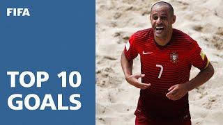 TOP 10 GOALS: FIFA Beach Soccer World Cup Portugal 2015