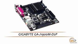 GIGABYTE GA-J1900M-D2P - видеообзор материнской платы