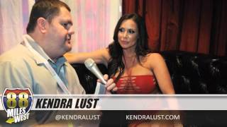 Interview with Kendra Lust at the 2016 Adult Entertainment Expo