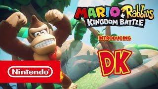 Mario + Rabbids Kingdom Battle - Donkey Kong Adventure Gameplay Trailer (Nintendo Switch)
