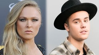 Ronda Rousey Calls Out Bieber For Being Rude & Blowing Off Little Sis