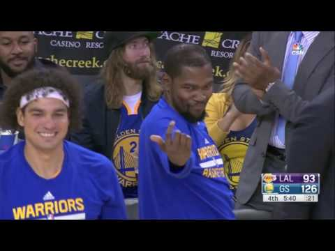 Kevin Durant s Best Moments As a Warrior