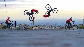 Danny MacAskill lands First-Ever Bump-Front Flip - Behind the Scenes of Epecuén