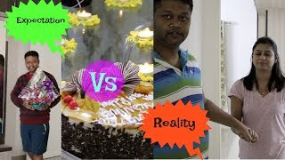 10th Anniversary Special Wife's Expectation vs Husband's Reality || An Amateur Try