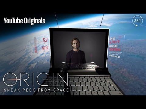 Tom Felton journeys to space to present Origin in 360°