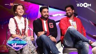 Manmarziyaan | Taapsee Pannu, Abhishek Bachchan & Vicky Kaushal | Movie Review | Zoom Weekend Show