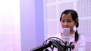 Little girl jigme chheyokee ghising singing timle bato fereu arey....