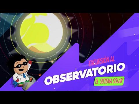 Zamba Excursión al Observatorio el sistema solar