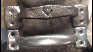 Forging a cabinet handle