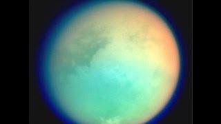 Titano, la più grande luna di Saturno - Ricreato dalla NASA