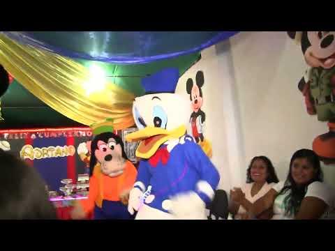 barnilyn show- casa de mickey mouse
