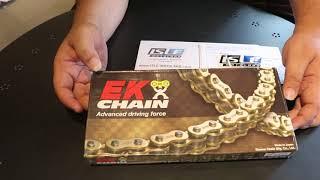 Rantai EK Chain Japan X Ring Gold