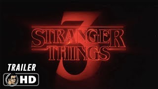 STRANGERS THINGS 3 Official Teaser Trailer (HD) Winona Ryder Netflix Series