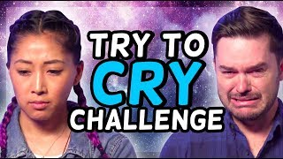TRY TO CRY CHALLENGE!! (Smosh Pit Weekly)