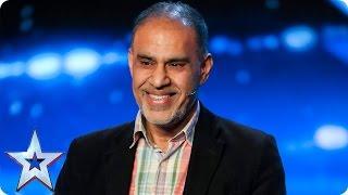 Irshad Shaikh is the world's worst impressionist | Auditions Week 4 | Britain's Got Talent 2017