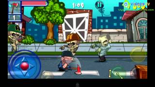 Android Zombie Neighborhood 720p HD