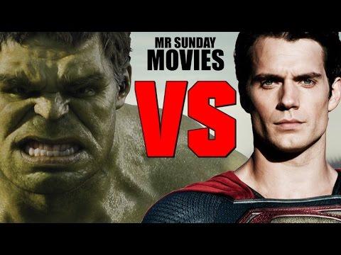 watch SUPERMAN VS. THE HULK - Who Would Win?