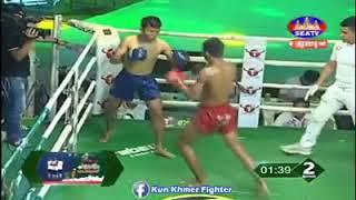 Tanh Makra vs Yodvandy (Thai) Seatv Khmer boxing 23/02/2019