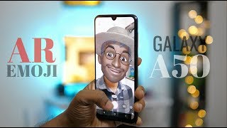 Galaxy A50 AR Emoji features Explained in Hindi