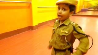Police Dada|5 year old Children' Police Dilip Dance Academy Student |